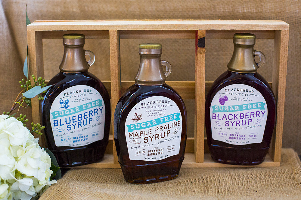 Sugar Free Syrup Gift Crate