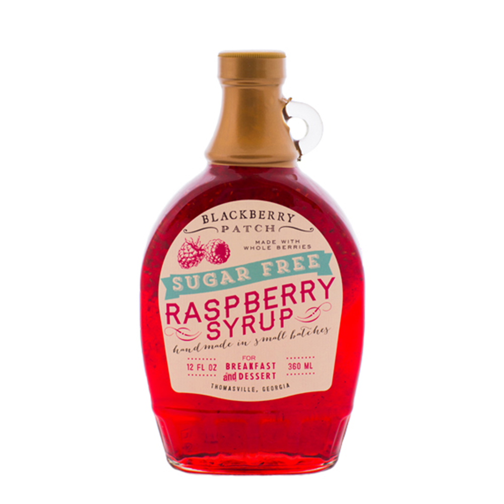 Sugar Free Whole Raspberry Syrup