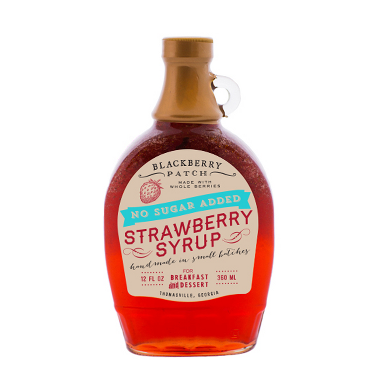 No Sugar Added Strawberry Syrup