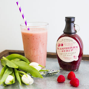 Recipe Photo of Raspberry Banana Smoothie