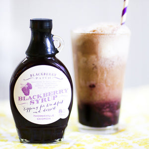 Recipe Photo of Blackberry Ginger Beer Float
