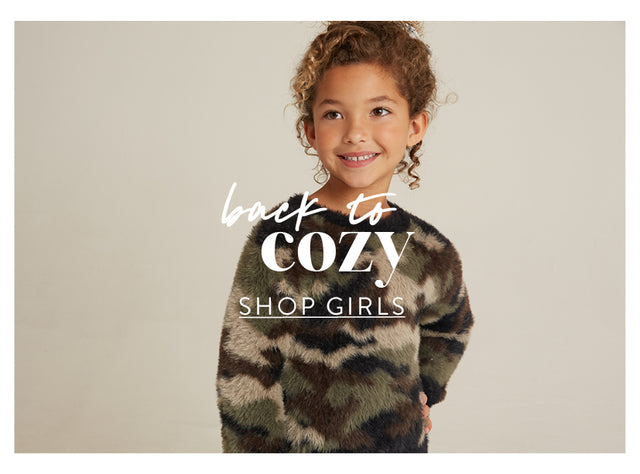 Back to Cozy. Shop Girls.