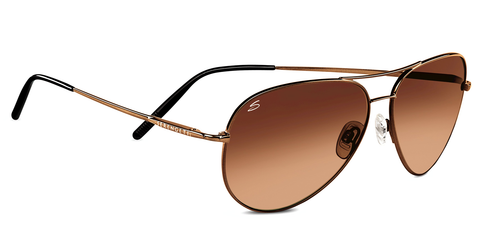 Serengeti Medium Aviator 6826 - Drivers Gradient, Henna Non-Polarized, Photochromic Lenses