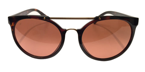 Serengeti Lerici 8352 Sunglasses- Shiny Tortoise/Satin Soft Gold, Drivers Gradient Lens