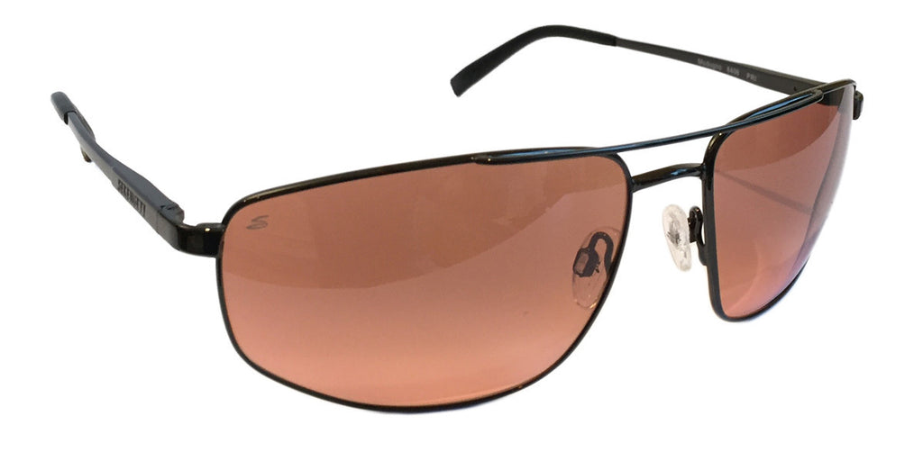 Serengeti Modugno 8408 Shiny Dark Gunmetal, Non-Polarized, Drivers Gradient, Photochromic Lenses