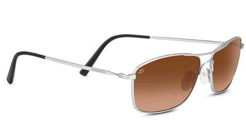Serengeti Corleone 8421- Satin Titanium, Drivers Gradient, Non Polarized, Photochromic Lenses