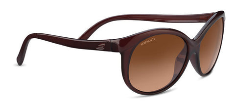 Serengeti Caterina 8557 -Shiny Burgundy, Drivers Gradient Photochromic Lenses