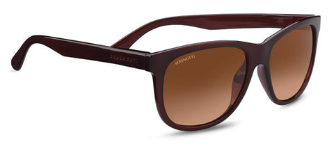Serengeti Ostuni 8589 - Shiny Burgandy, Non-Polarized Drivers Gradient, Photochromic Lens