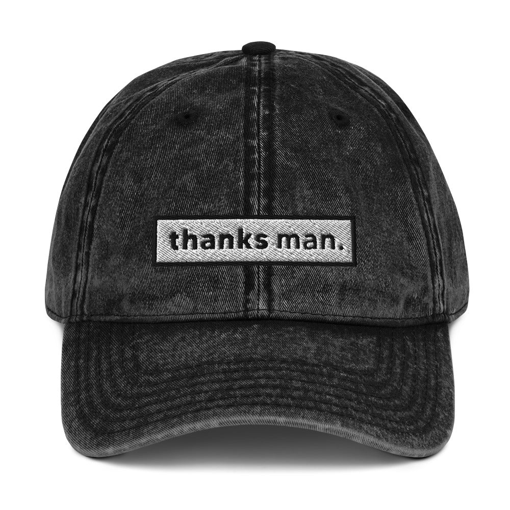 THANKS MAN VINTAGE DAD HAT