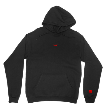 Durt Hoodie (Red Text)