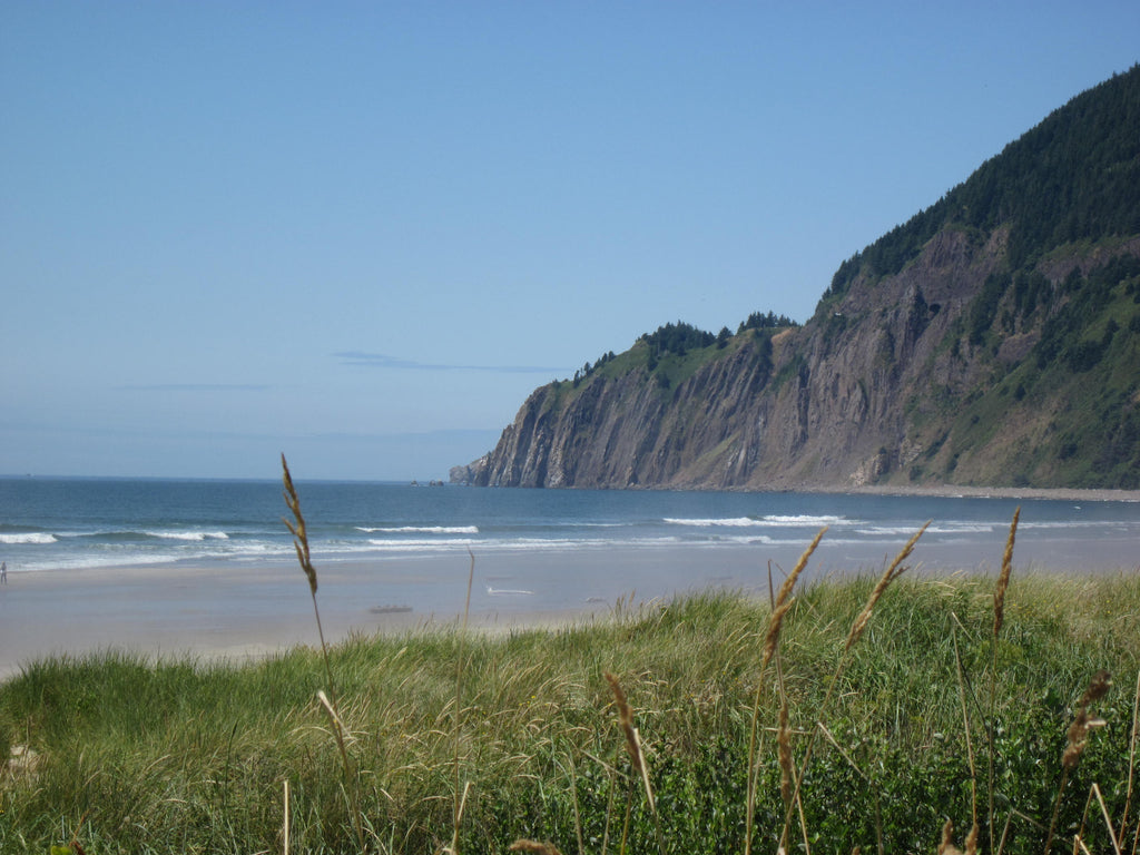 Pancake Flat beach at Manzanita