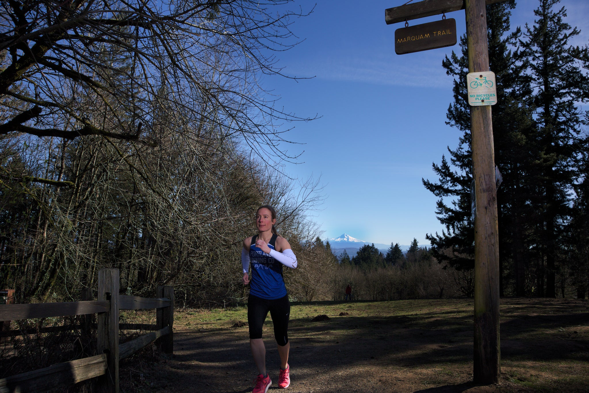 Council Crest Park Trail Run Portland Oregon