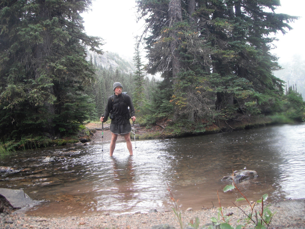 Gleb Velikanov on the PCT trail hike