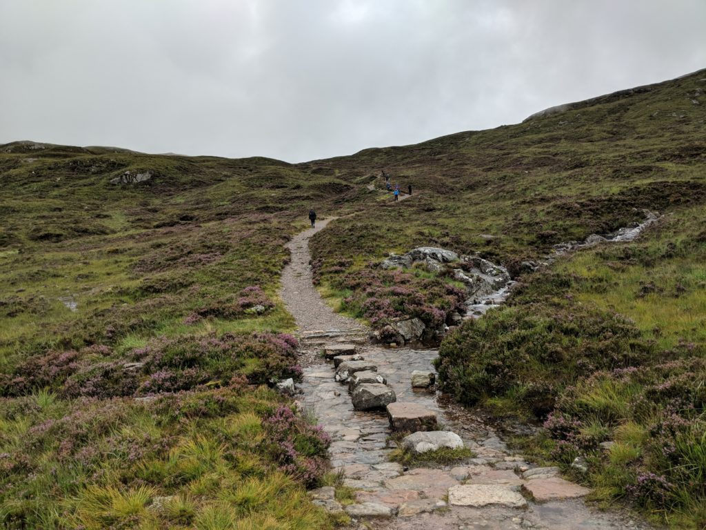 Devil's Staircase West Highland Way Scotland