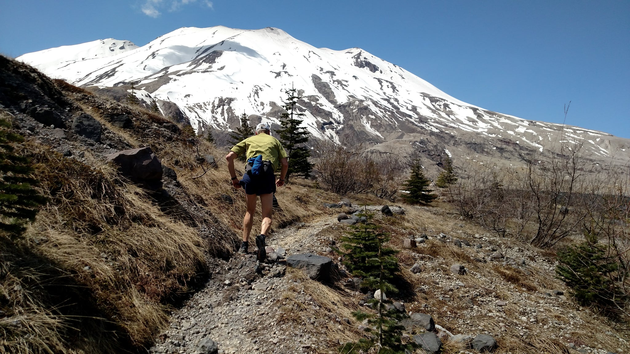 Ape Canyon ascent Phil Orlowski Portland Running Company Trail Washington Gifford Pinchot Mount St. Helens