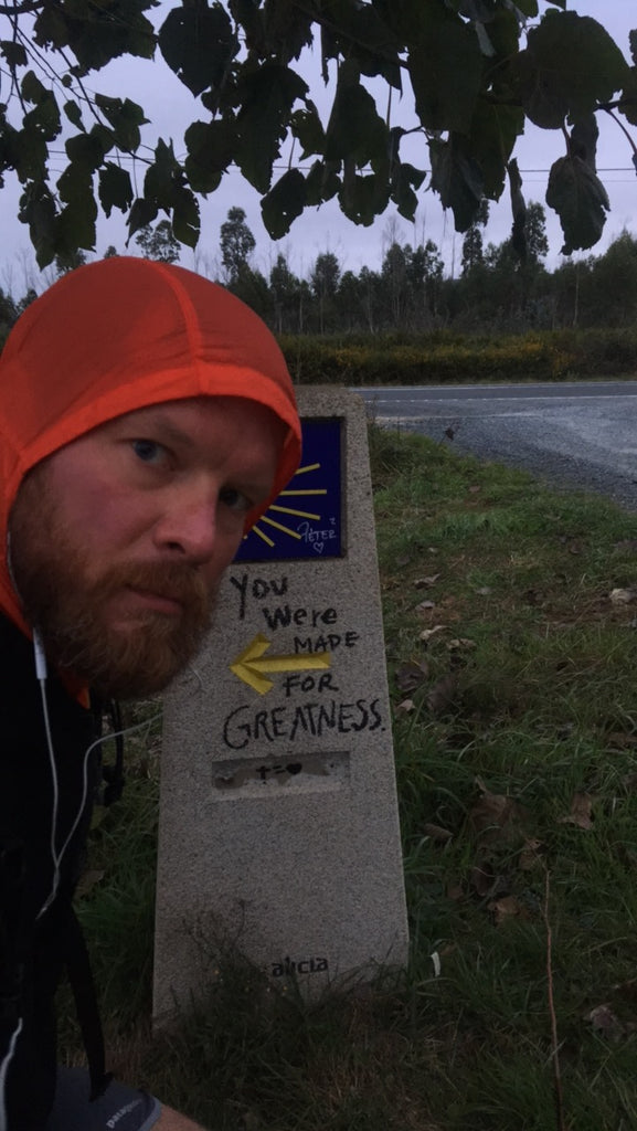Gleb was here. The end is in sight. Camino de Santiago