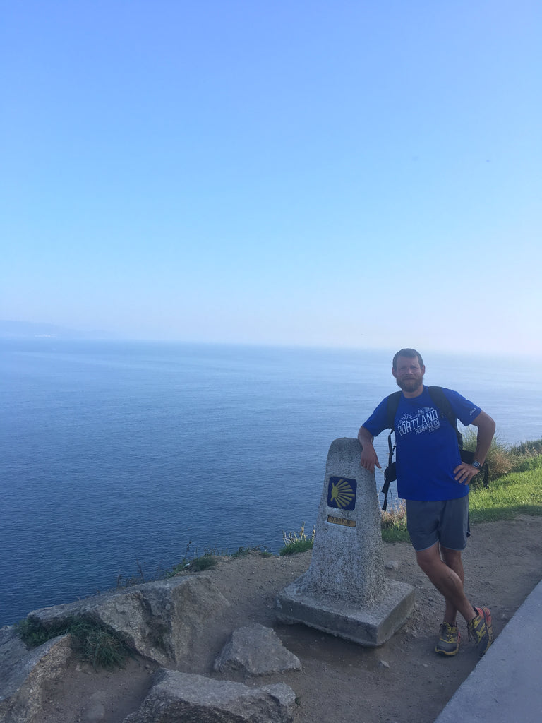 Gleb Walks the Camino de Santiago Finisterre