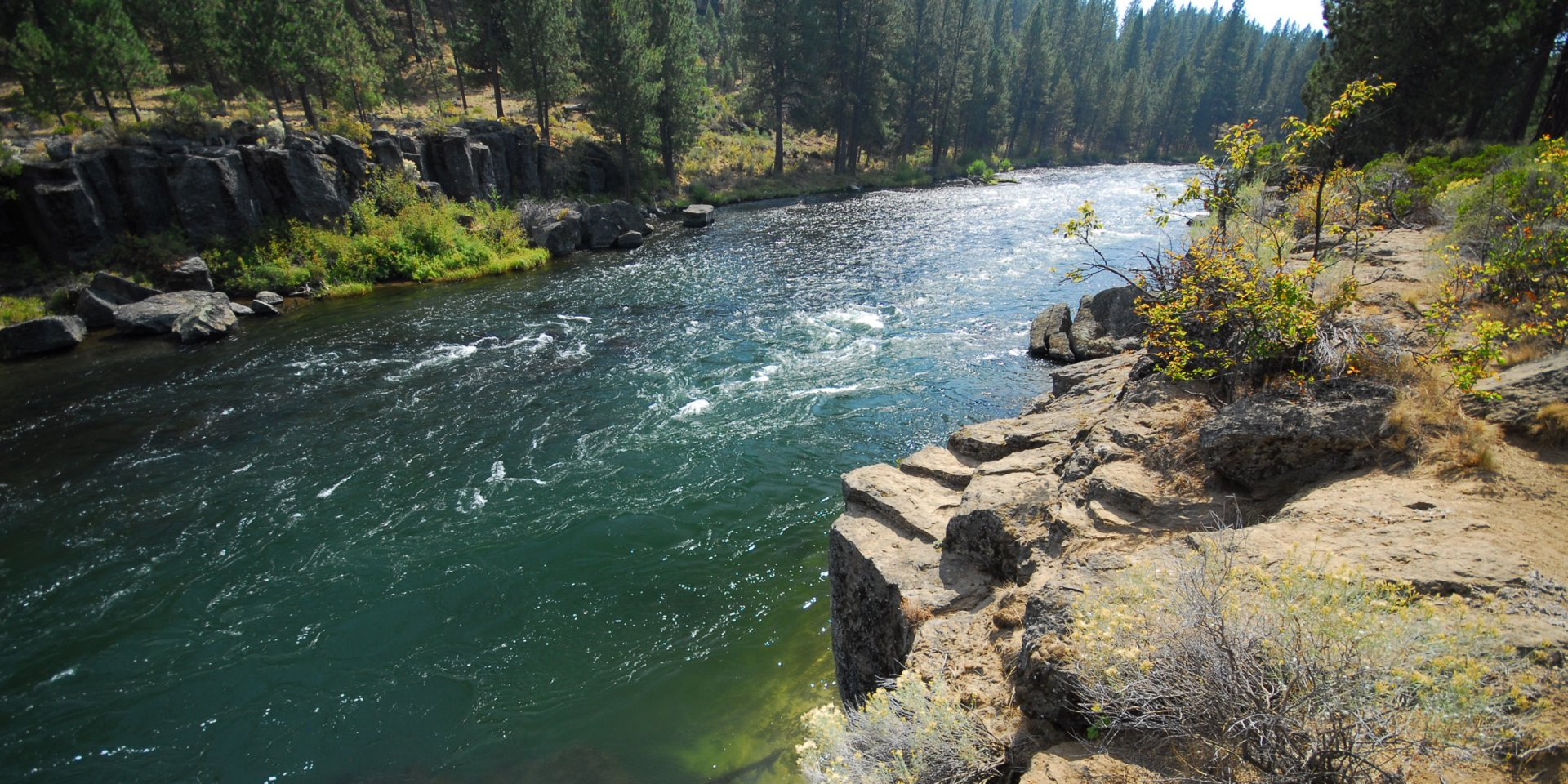 Deschutes River Trail Meadow Camp Day Use Area