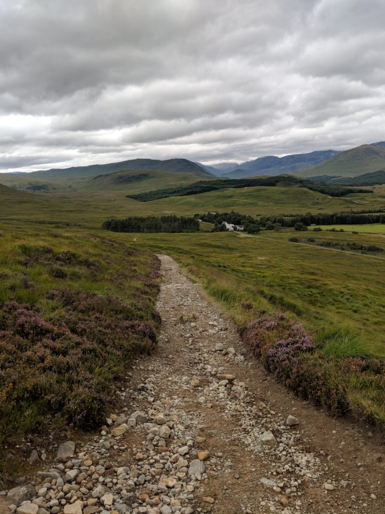 Bed and Breakfast Moors West Highland Trail Scotland