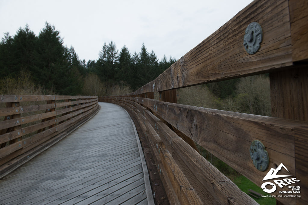 Banks Vernonia State Trail Buxton Bridge Run