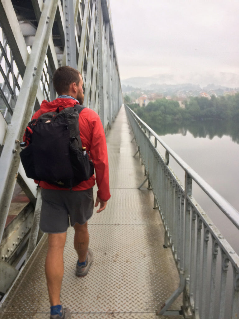 Gleb on the Camino Portugues in 2017