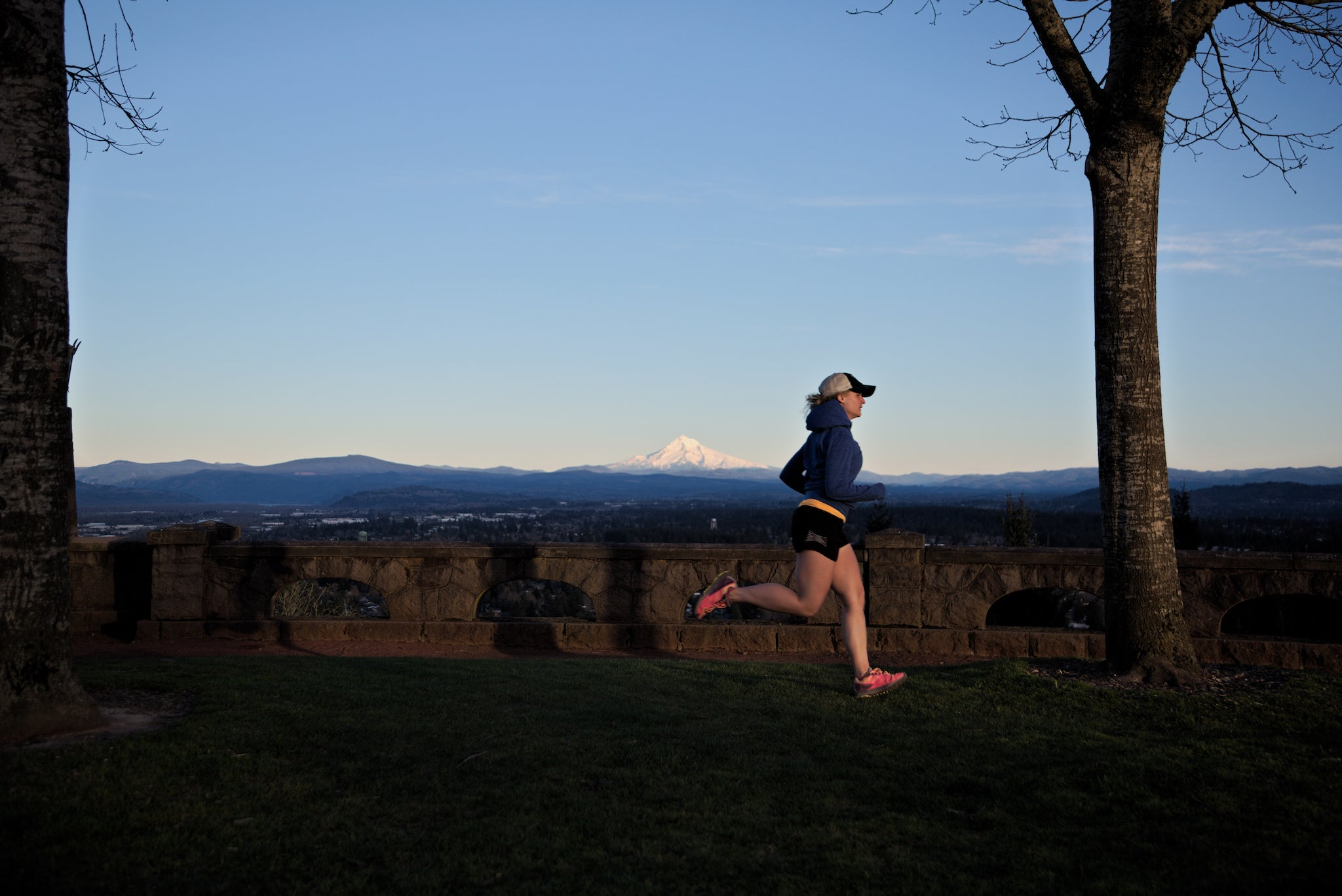 Rocky Butte Portland Oregon Top View Runner