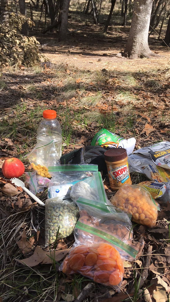 Trail food AZT thru hike