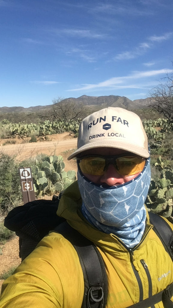 Saguaro National Park AZT thru hike
