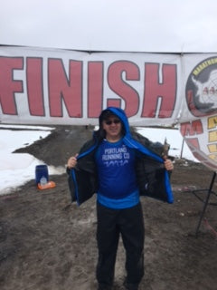 Wade Hathhorn Finish Photo Antarctica Half Marathon 2016