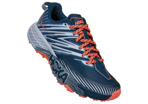 Hoka One One Women's Speedgoat 4 Trail Running Shoe in Wide