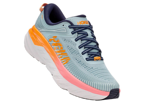 Hoka One One Women's Bondi 7 Wide Neutral Road Running Shoe