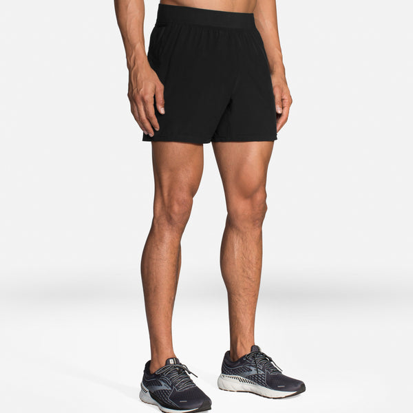 "Brooks Men's Sherpa 5"" Inseam Running Shorts"