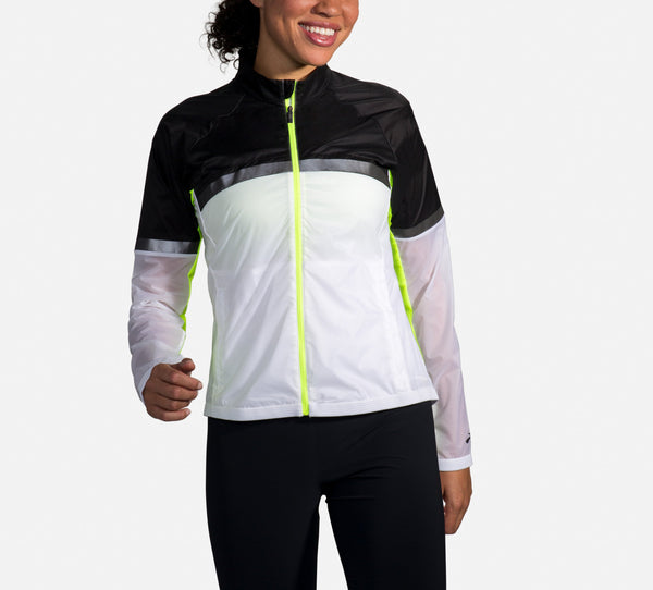 Brooks Women's Carbonite Lightweight Reflective Women's Running Jacket