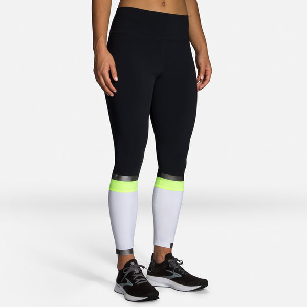 Brooks Women's Carbonite 7/8 reflective running tights