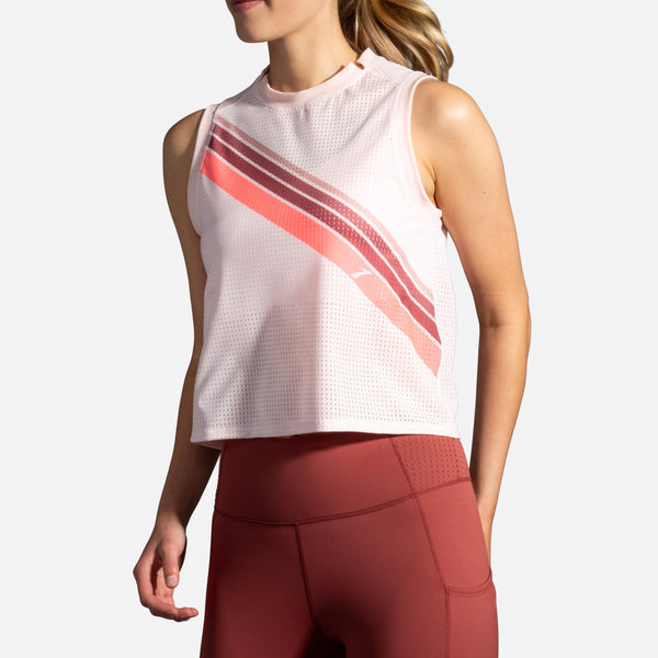 Brooks Women's Further Tank Stylish Workout Top