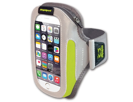 Amphipod Reflective-Burst ArmPod SmartView Sumo Phone and Media Armband Carrier