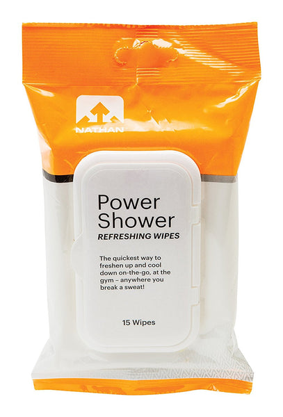 Nathan Sports Power Shower After-Workout Cleaning Wipes