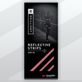 Brilliant Reflective Iron-On Strips