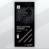 Brilliant Reflective Stick-On Strips