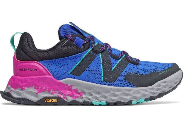 New Balance Women's Hierro v5 Trail Running Shoe Cobalt Poisonberry