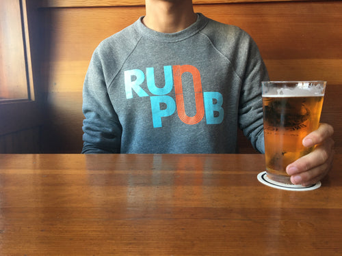 Run Pub Unisex Crewneck Sweatshirt