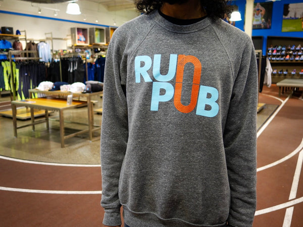 Run Pub Unisex Crew Sweatshirt