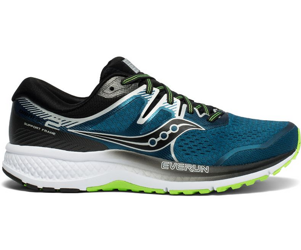 Saucony Men's Omni ISO 2 Wide Stability Running Shoe