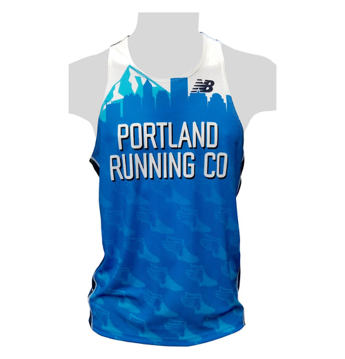 2019 New Men's Singlet PRC Portland Running Company Race Team Jersey Uniform Club Membership
