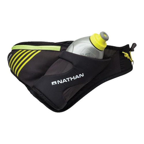 Nathan Peak Hydration Waist Pak with water bottle