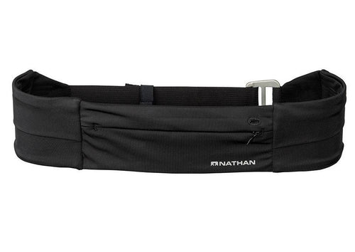 Nathan Adjustable Fit Zipster Running Belt Waistpack