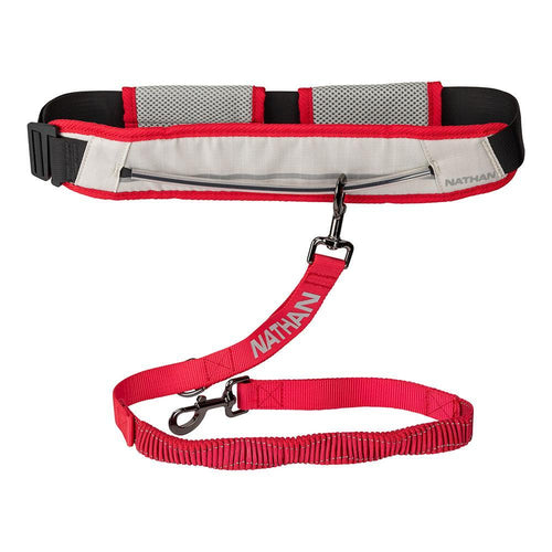 Nathan K9 Run Companion belt, waistpack, and connected dog leash