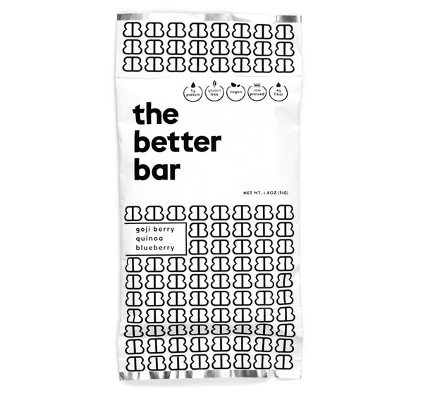 The Better Bar Original Healthy Nutrition and Energy Bar