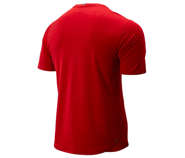 New Balance Men's Q Speed Breathe Short Sleeve Top