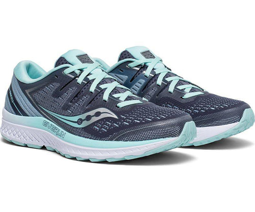 Saucony Women's Guide Wide ISO 2 Stable Wide Road Running Shoe